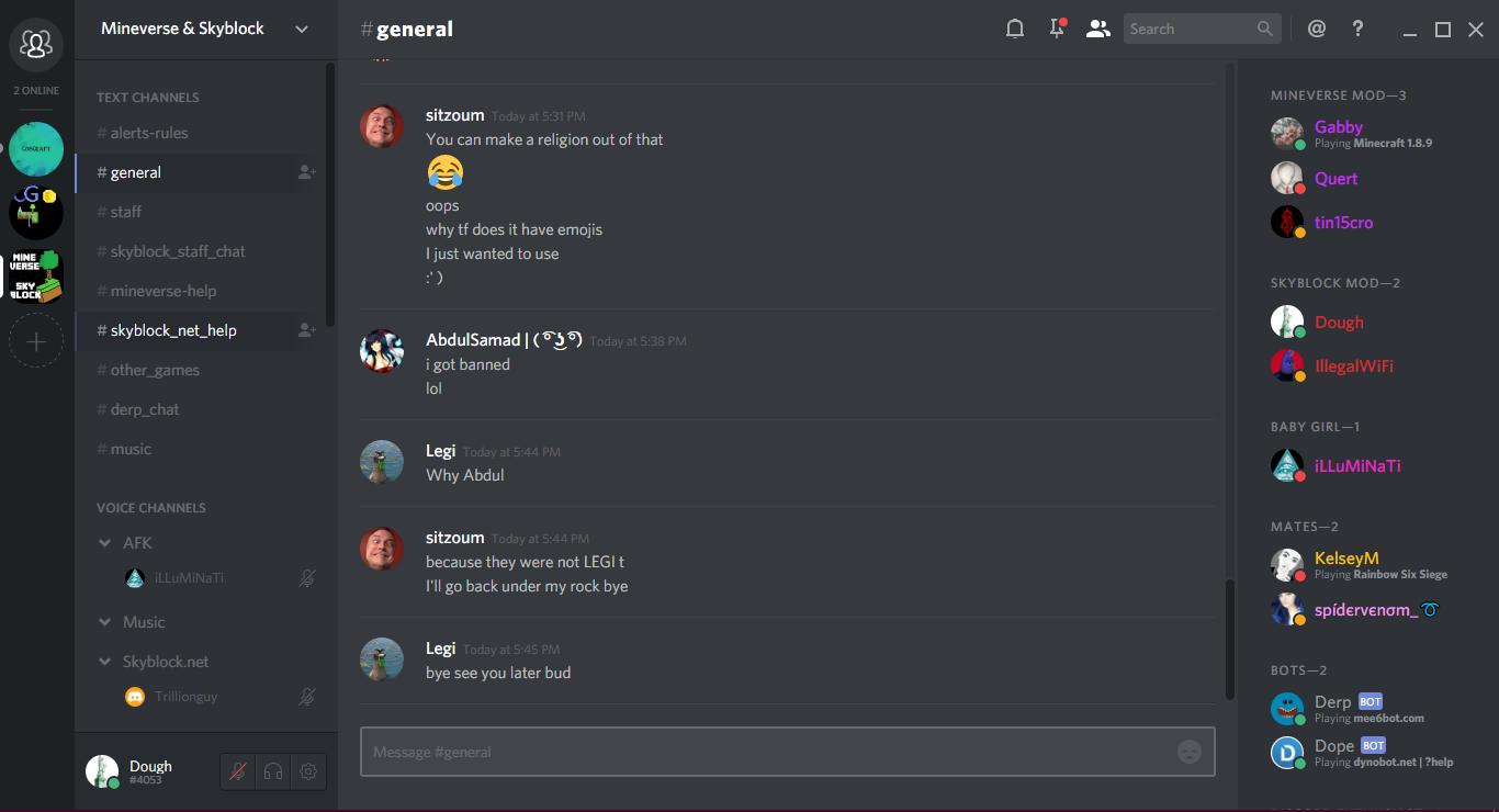 MV/SB] Guide to discord server~ | Skyblock Forums